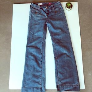 Pilcro and the Letterpress Wide Leg Jeans